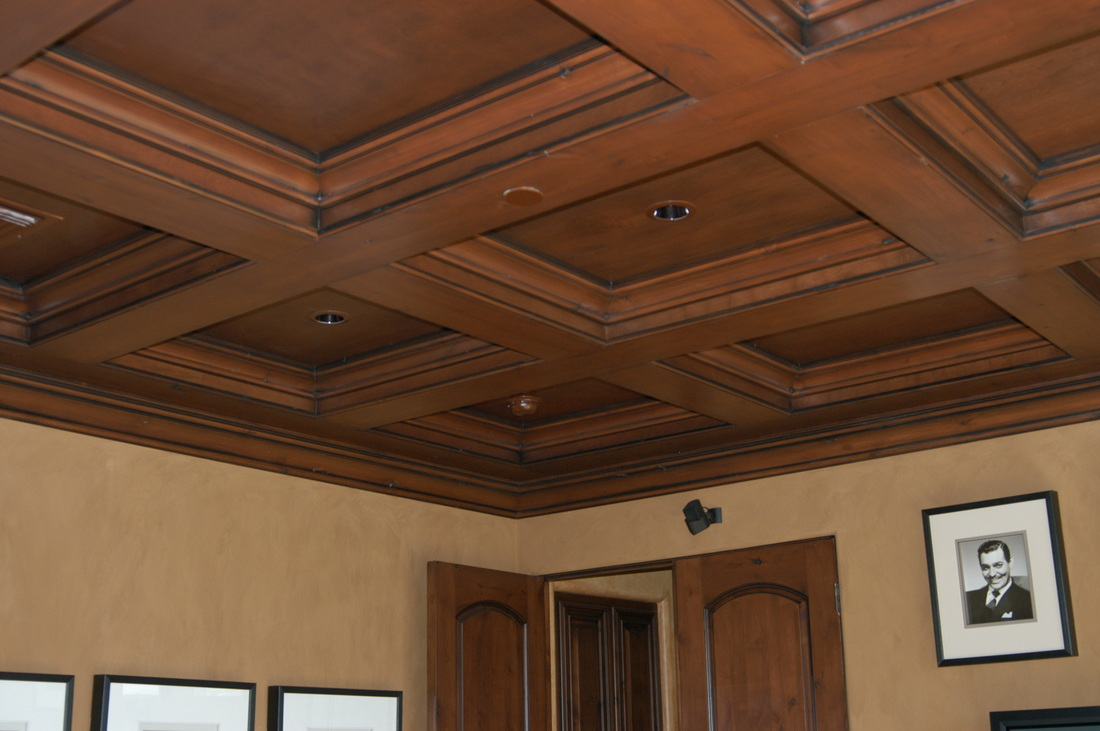 box ceiling ideas custom coffered ceiling 187. Black Bedroom Furniture Sets. Home Design Ideas